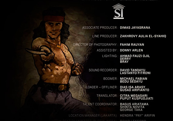 End credits Garuda Power. 2014