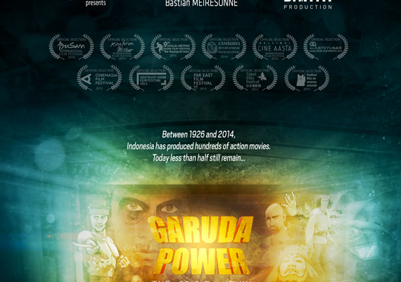 Affiche du film GARUDA POWER. 2015